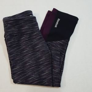 Reebok Leggings Yoga Pants Size XS